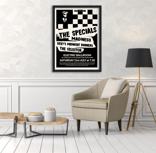 The Specials Gig Poster