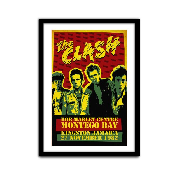 The Clash Gig Poster