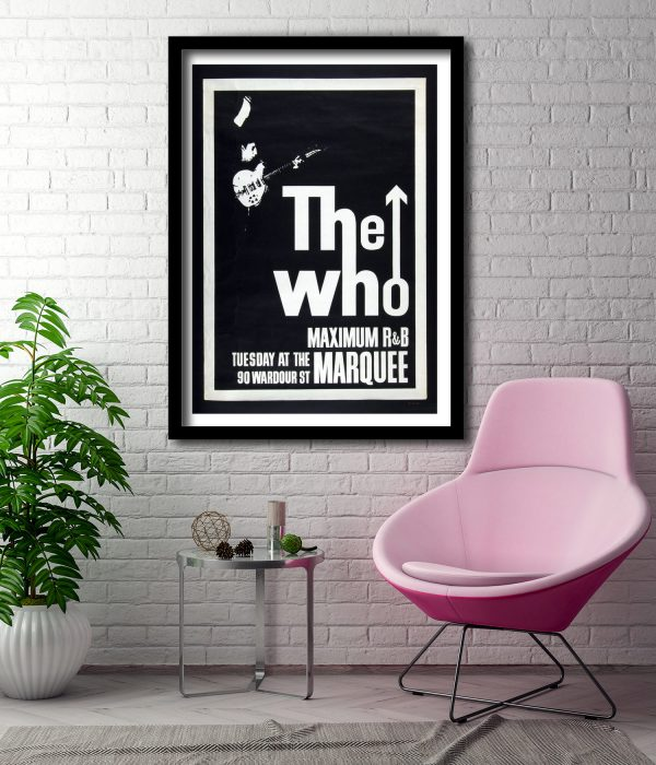 The Who Gig Poster